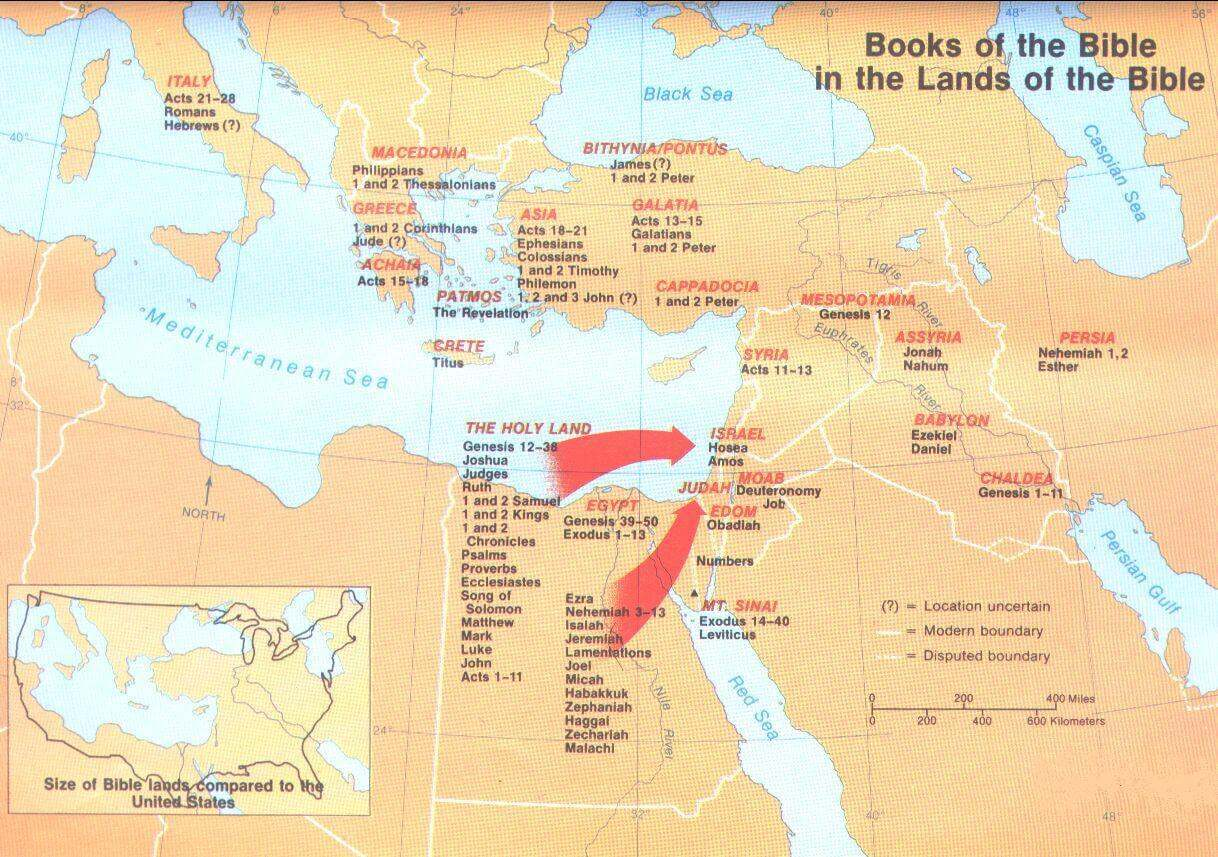 Biblical Lands of the Bible